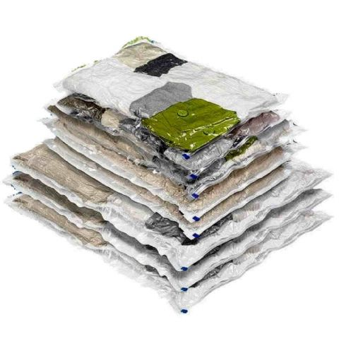 PackSmart Hoover Vacuum Shrink Storage Bags (10 Pack) Worth £50